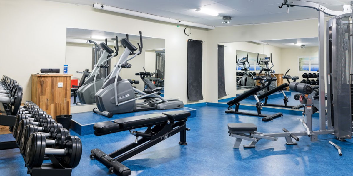 Hotellets gym