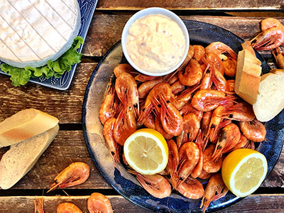 Shrimp evening