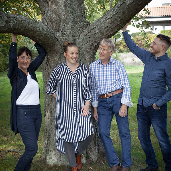 Familjen Andersson i parken