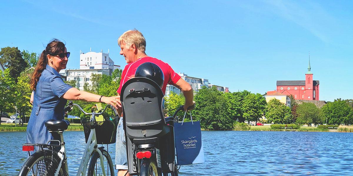 Cykelpaket i Nynäshamn